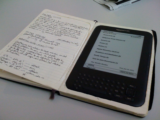 kindle notes moleskine