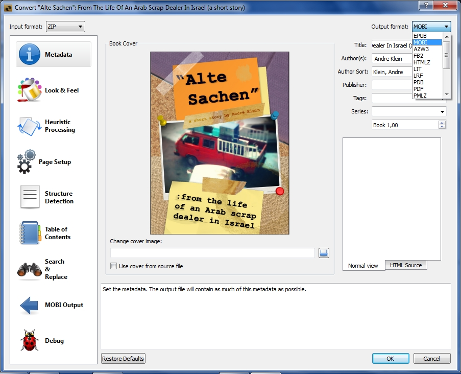 How To Create Ebooks With Open Source Software: #3