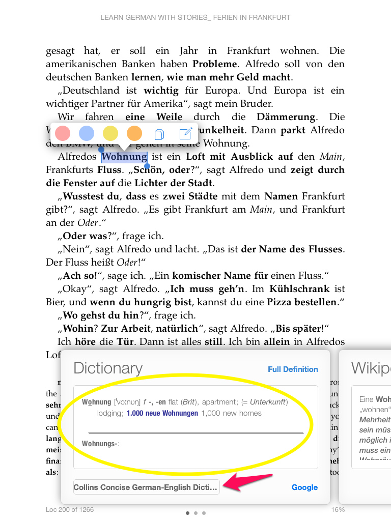 English In Italian: Add A German-English Dictionary To Kindle On Your IPad Or