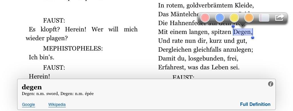 Add a german english dictionary to kindle on your ipad or iphone ios i2013080909542553 fandeluxe Image collections
