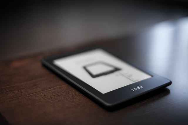 Kindle Paperwhite larger (image by  by Moridin_ via flickr CreativeCommons)