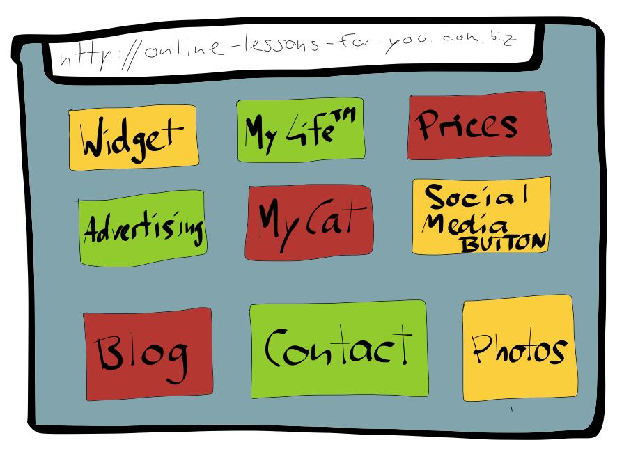 online teaching menu