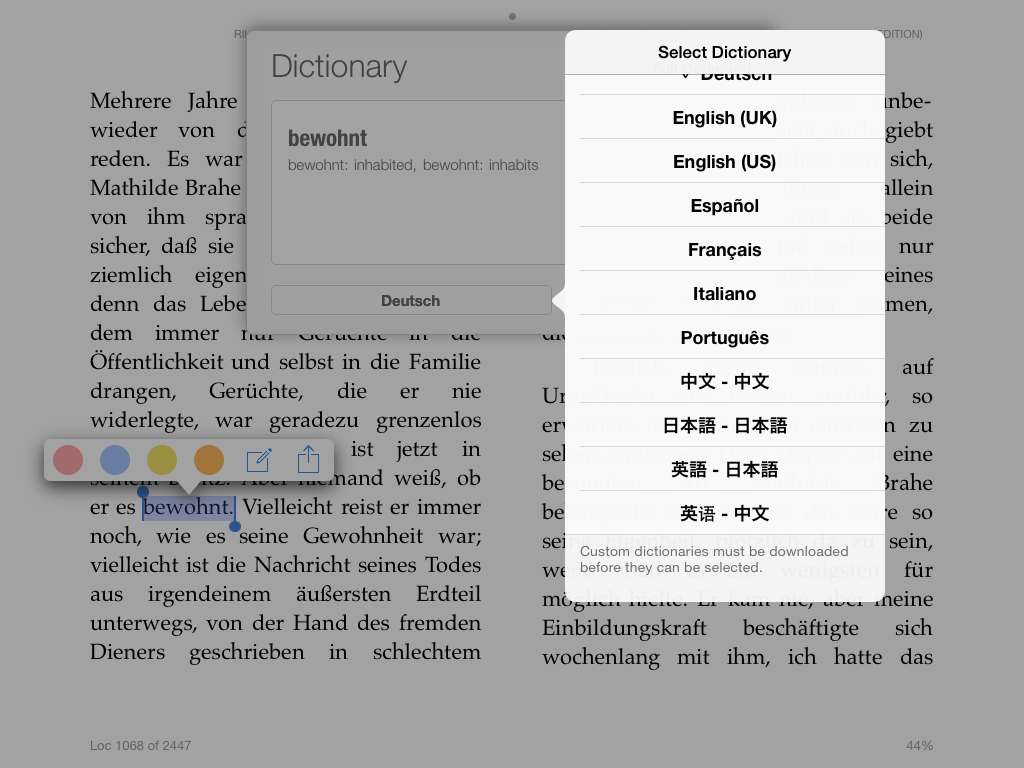 how to read epub on iphone