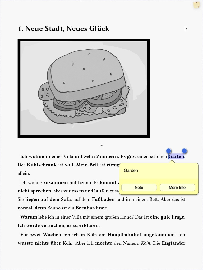 Best ebook reader apps with word translation for ipad and iphone ios tap for context menu word translation google translate fandeluxe Gallery