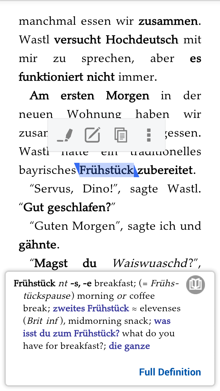 Add A German English Dictionary To Your Android Kindle App