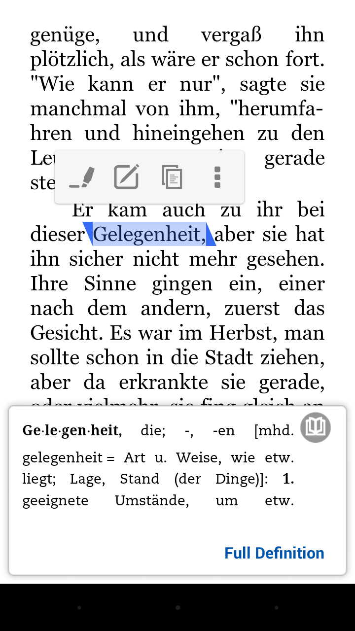 German to english dictionary android app