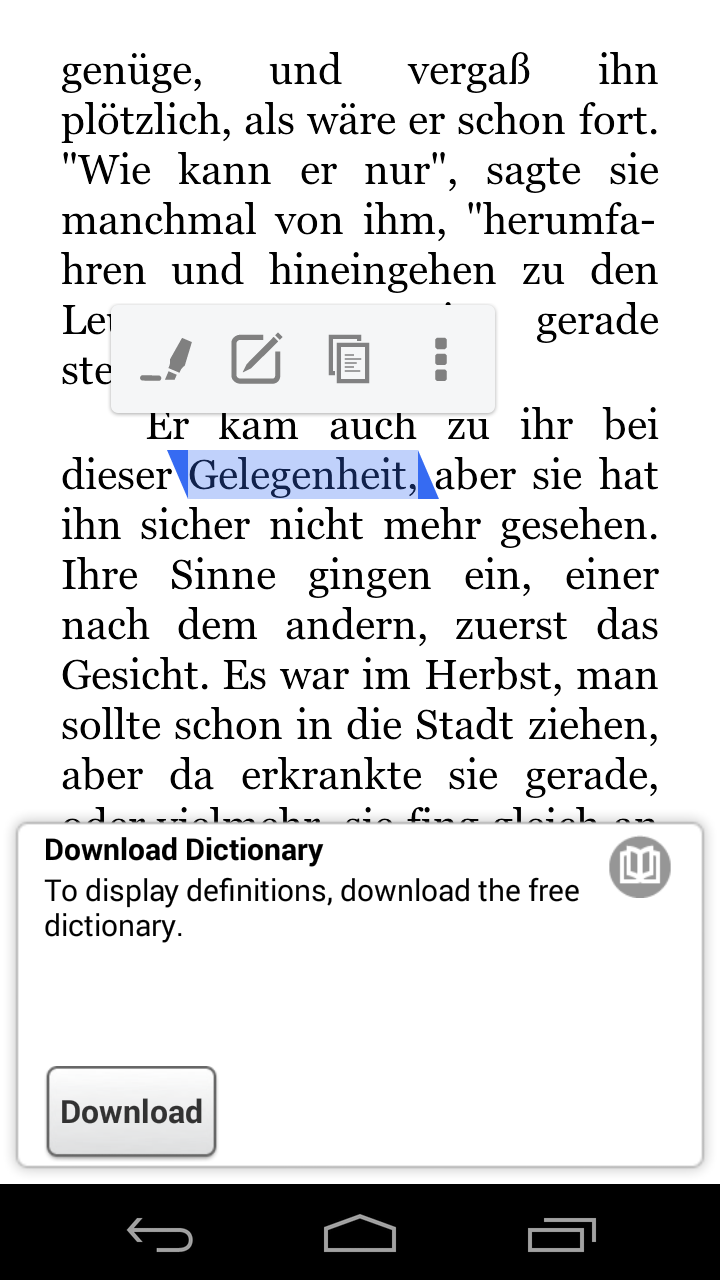 German-English dictionary - translation - Langenscheidt