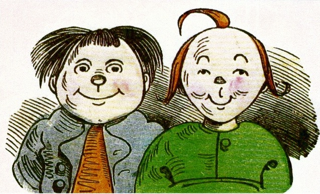 Max & Moritz, published in 1925, the original German comic?