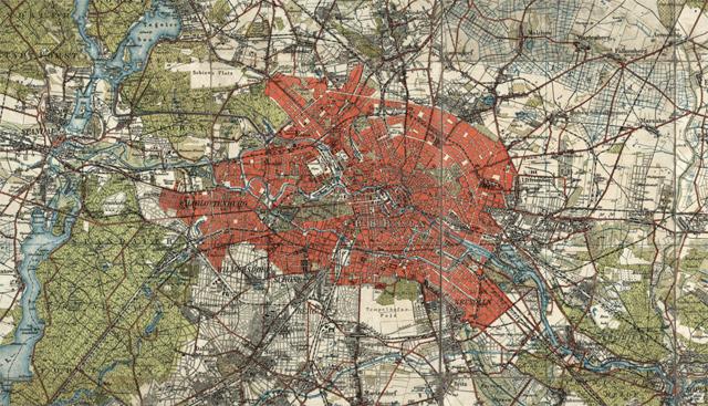 Public Domain map