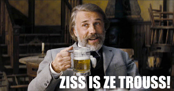 Christoph Waltz as Dr. King Schultz in Django Unchained (2012), via http://wholemovieinfo.com/christoph-waltz-to-host-snl-are-you-excited/