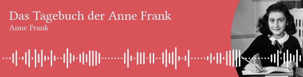 Free German audiobook of Anne Frank's Diary