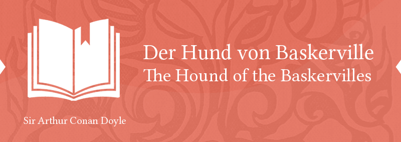 bilingual Sherlock Holmes German English